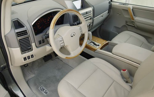 2006 Infiniti Qx56 Information And Photos Zombiedrive