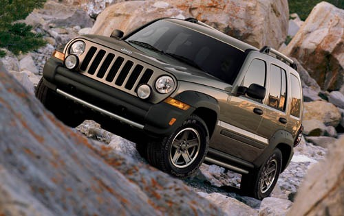 2006 Jeep Liberty Renegad exterior #2