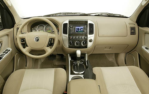 2006 Mercury Mariner Hybr interior #7