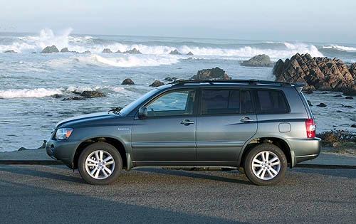 2006 Toyota Highlander Hybrid 6 Hy Interior