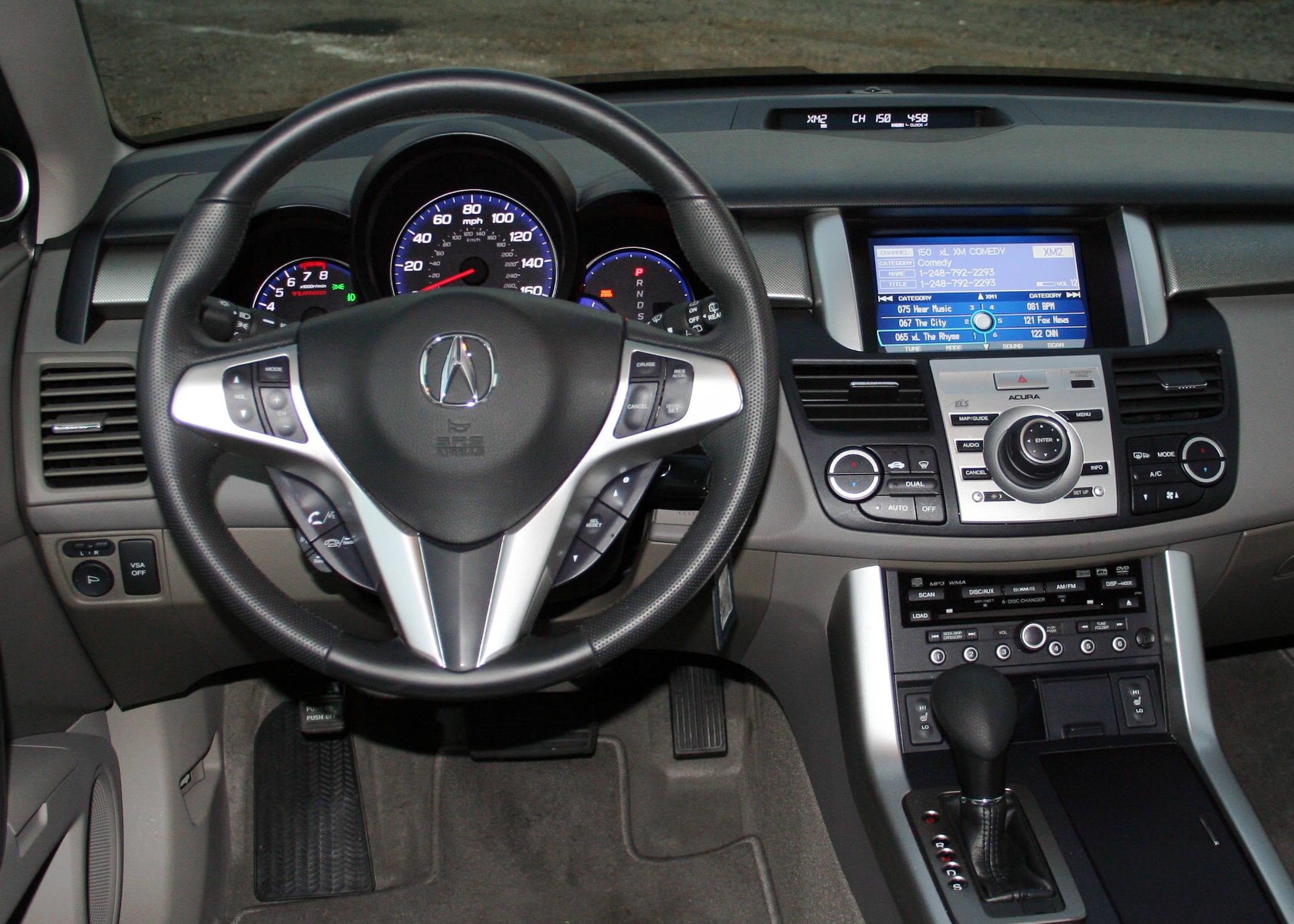 Acura Rdx 2007 Acura Rdx 16 Acura Rdx