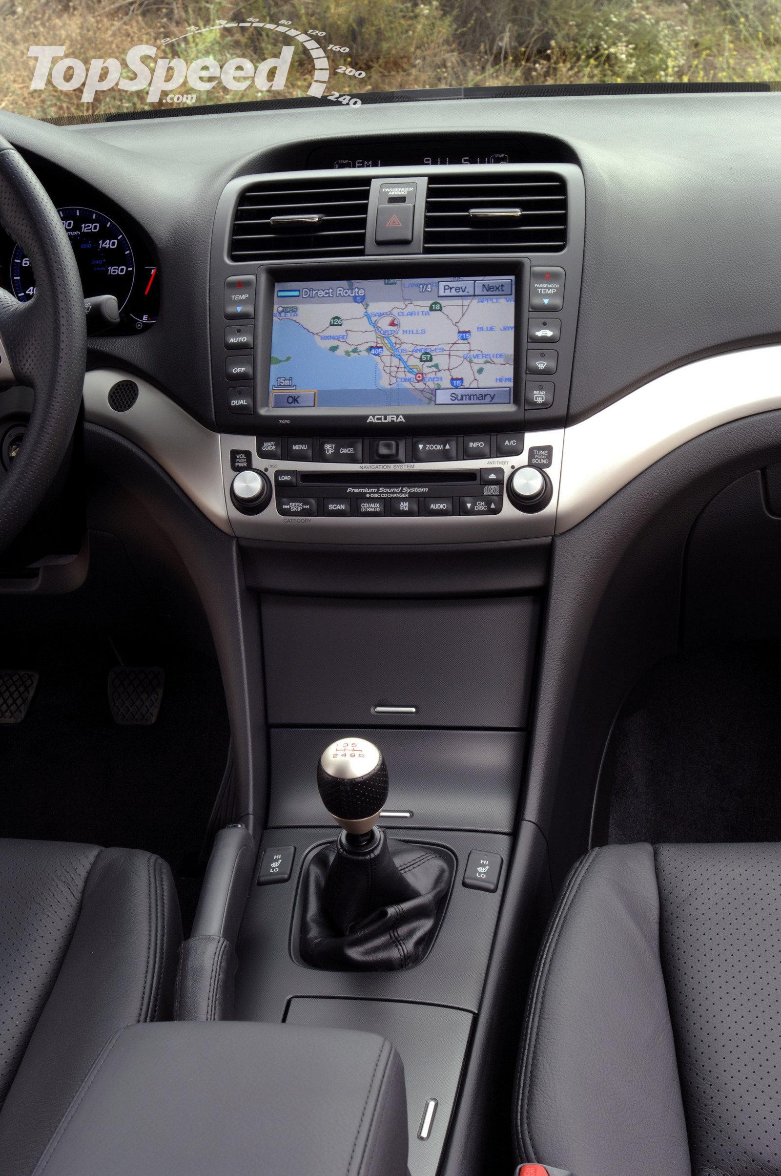 2007 Acura TSX  Information and photos  ZombieDrive