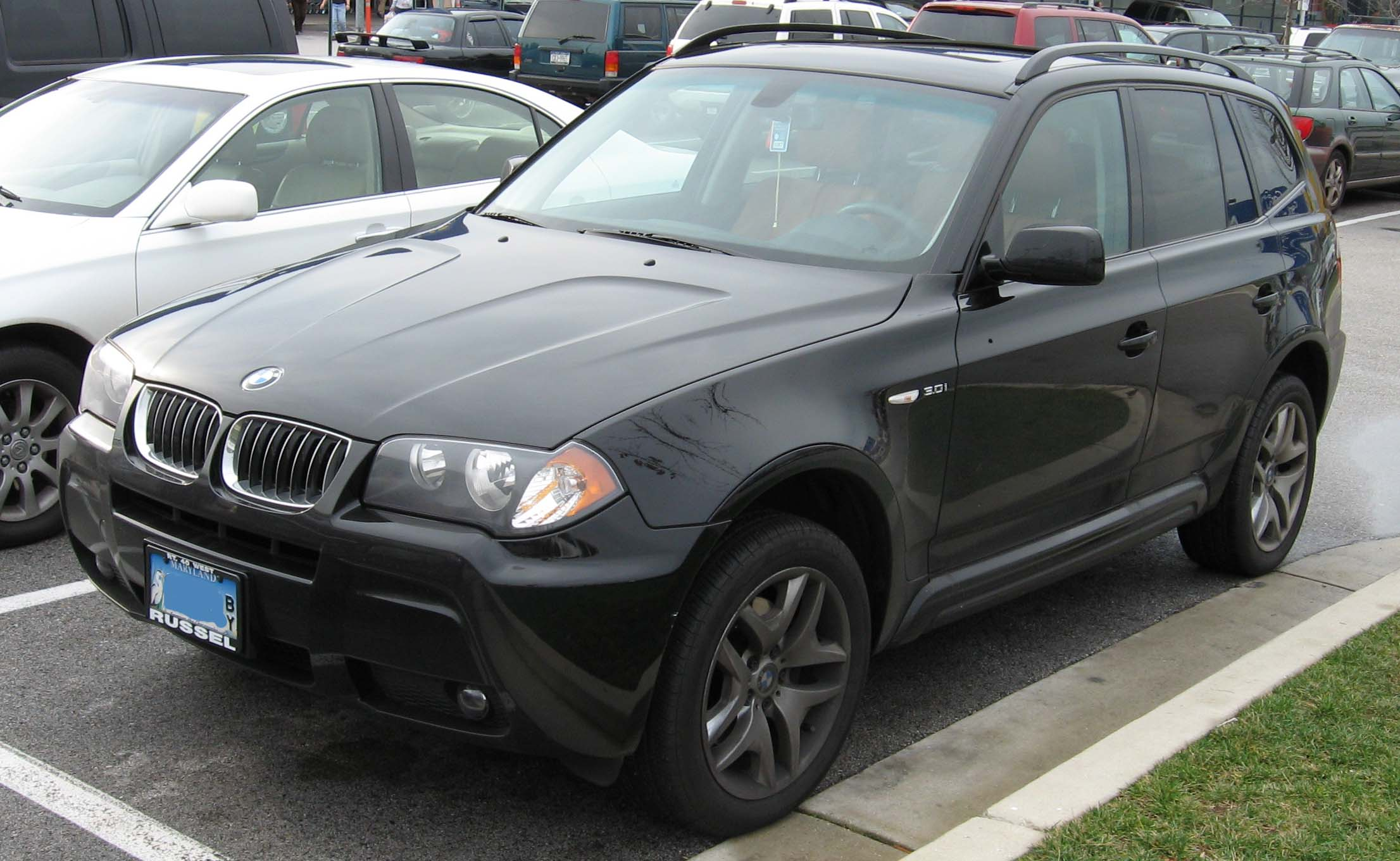 2007 BMW X3 Information and photos ZombieDrive
