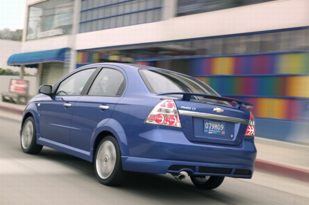 2007 Chevrolet Aveo Information And Photos Zombiedrive