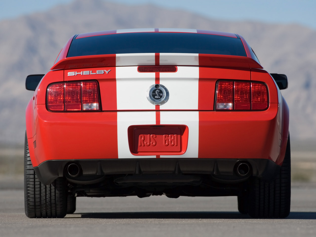 Ford Shelby GT500 #10