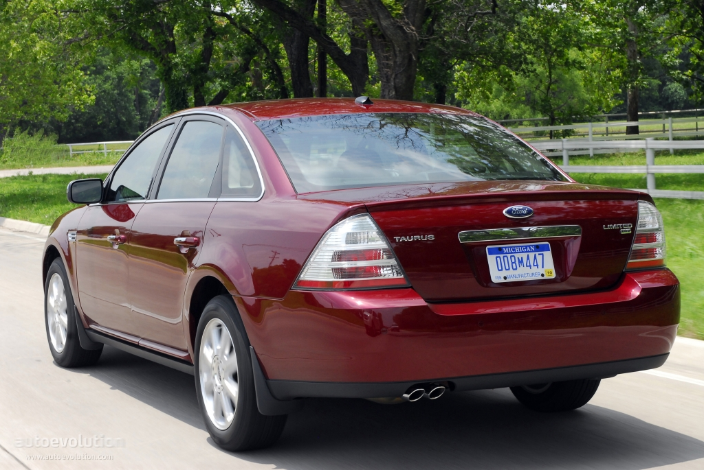 2007 Ford Taurus Information And Photos Zombiedrive