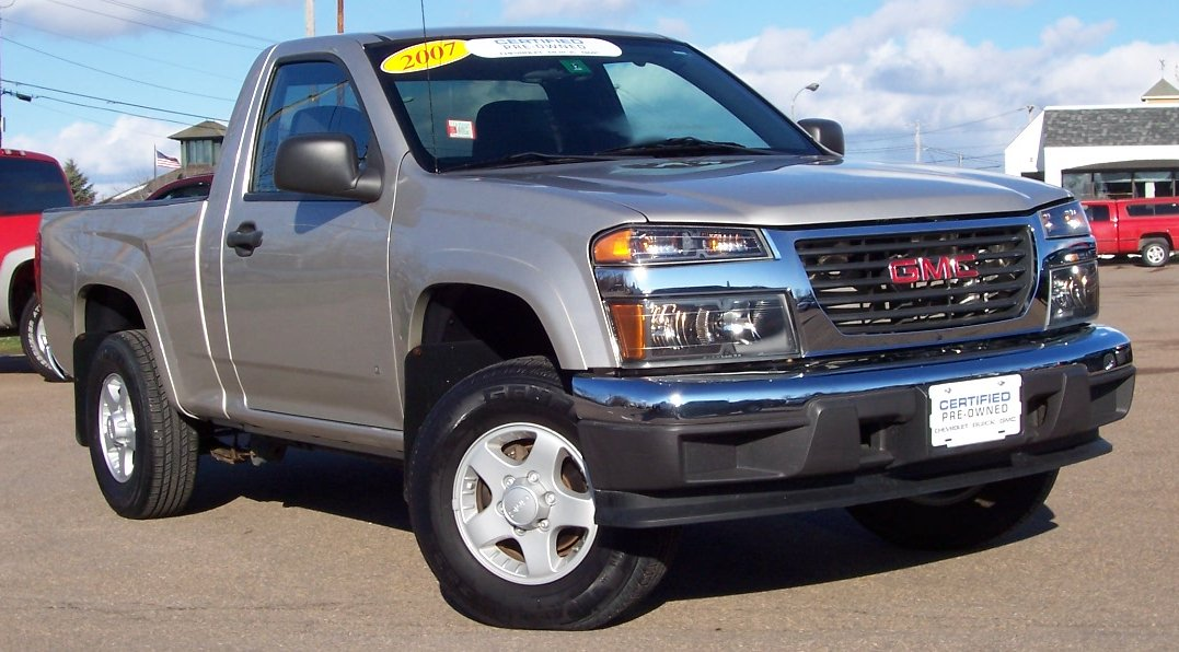 Lifted Gmc Canyon >> 2007 GMC CANYON - Image #14