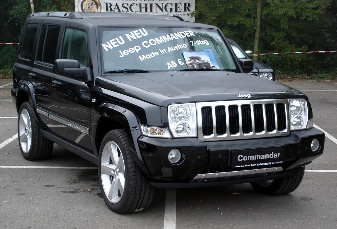 2007 jeep commander image 12. Black Bedroom Furniture Sets. Home Design Ideas
