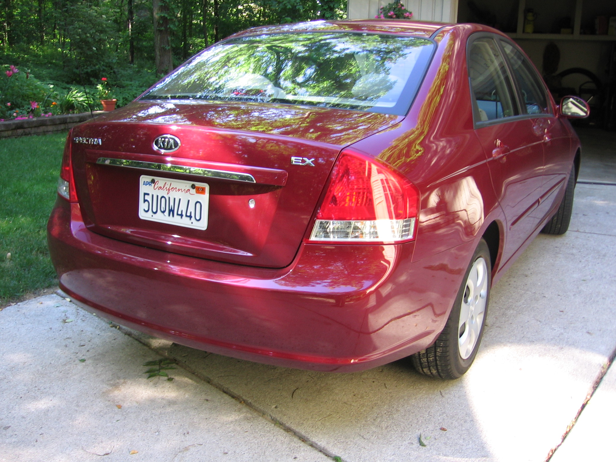 2007 Kia Spectra Image 13