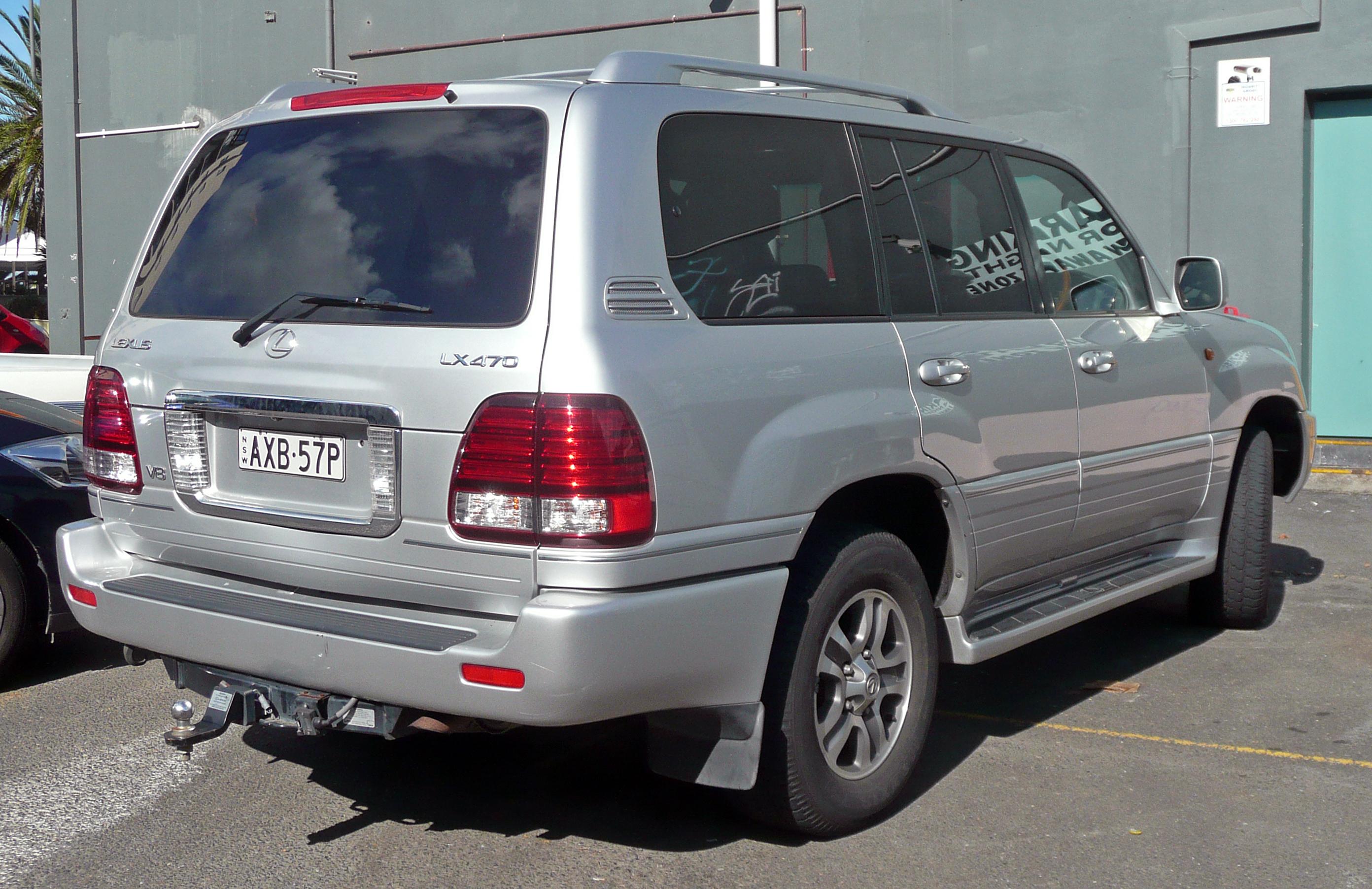 2007 LEXUS LX 470 - Image #13
