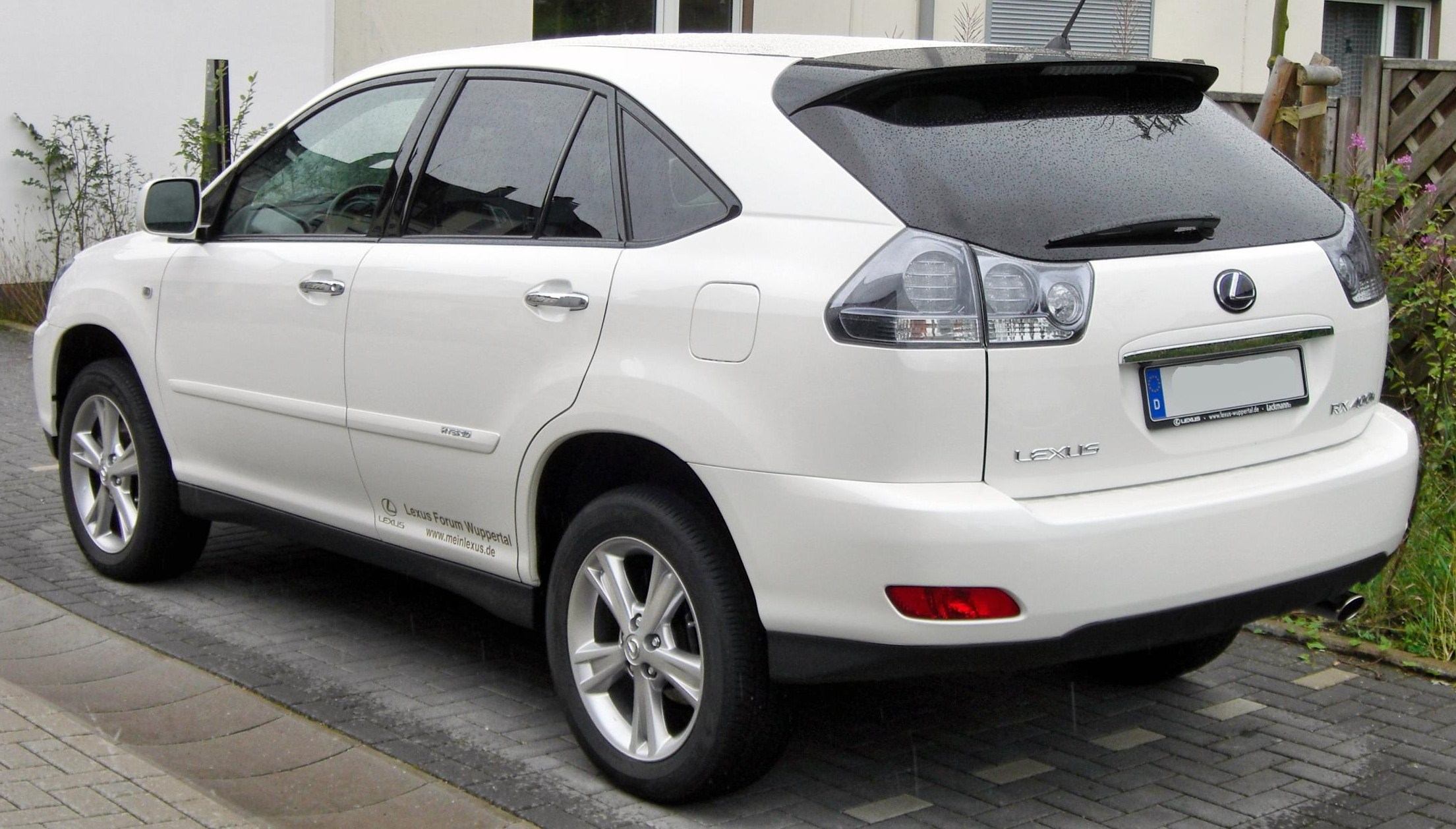 2007 lexus rx 400h - information and photos - zombiedrive