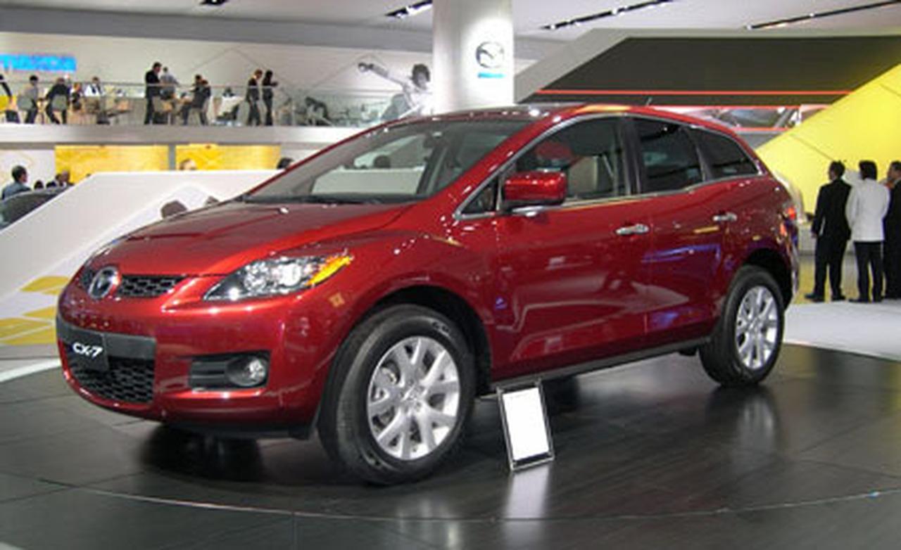 2007 Mazda CX-7 - Information and photos - Zomb Drive