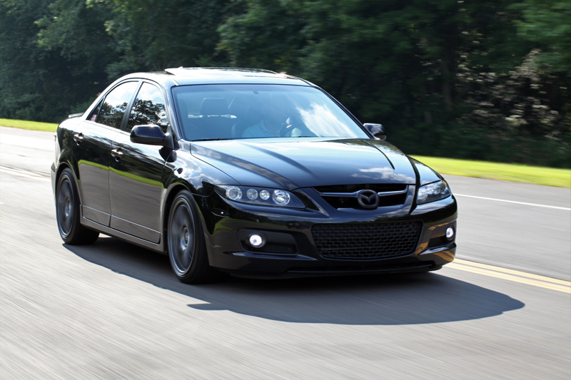 Image gallery mazdaspeed 6 black for Mazdaspeed 6 exterior mods