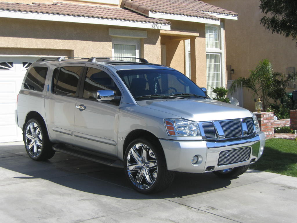 2007 nissan armada information and photos zombiedrive 2007 nissan armada 18 nissan armada 18 vanachro Images