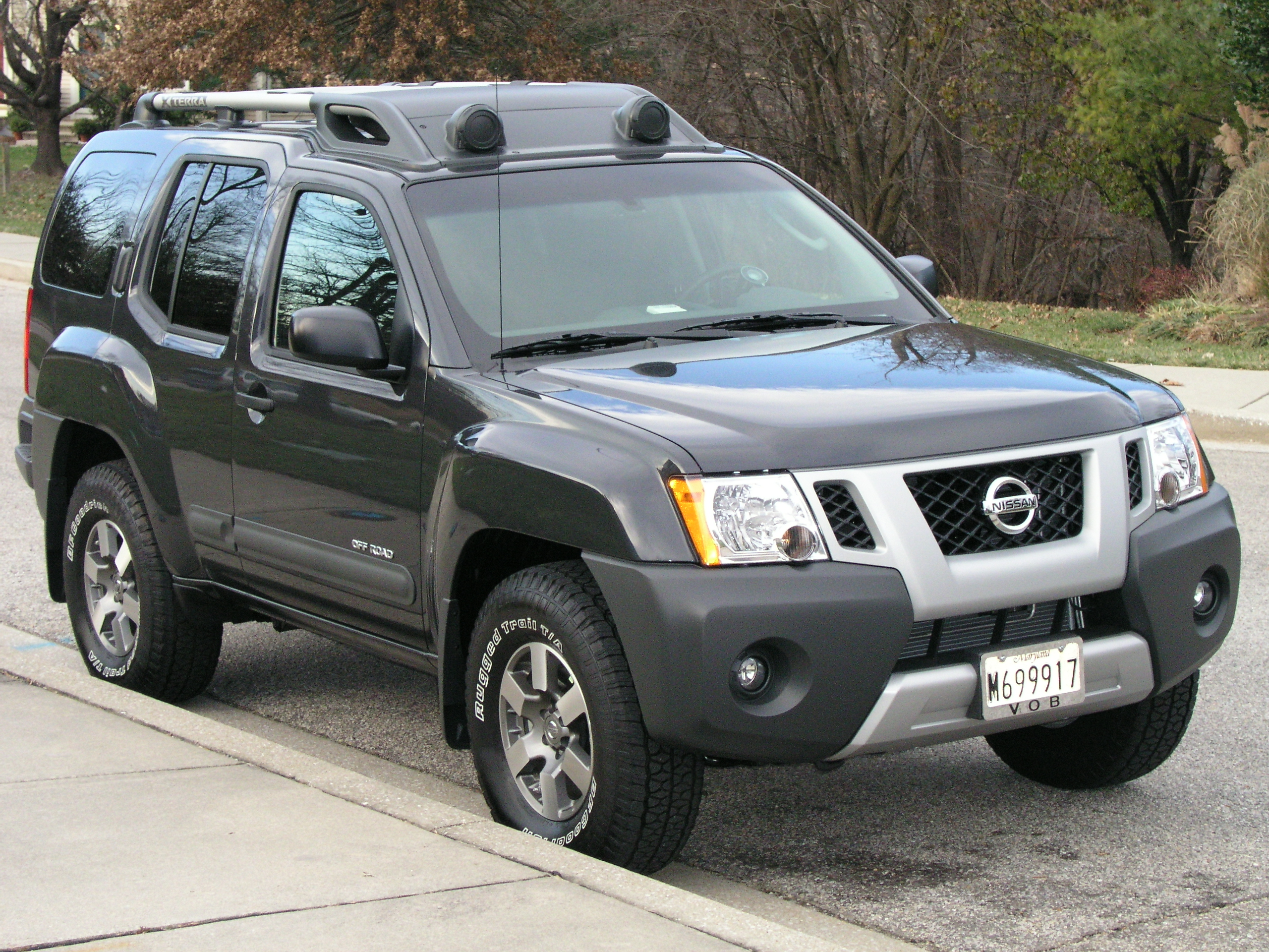2007 Nissan Xterra Information and photos ZombieDrive