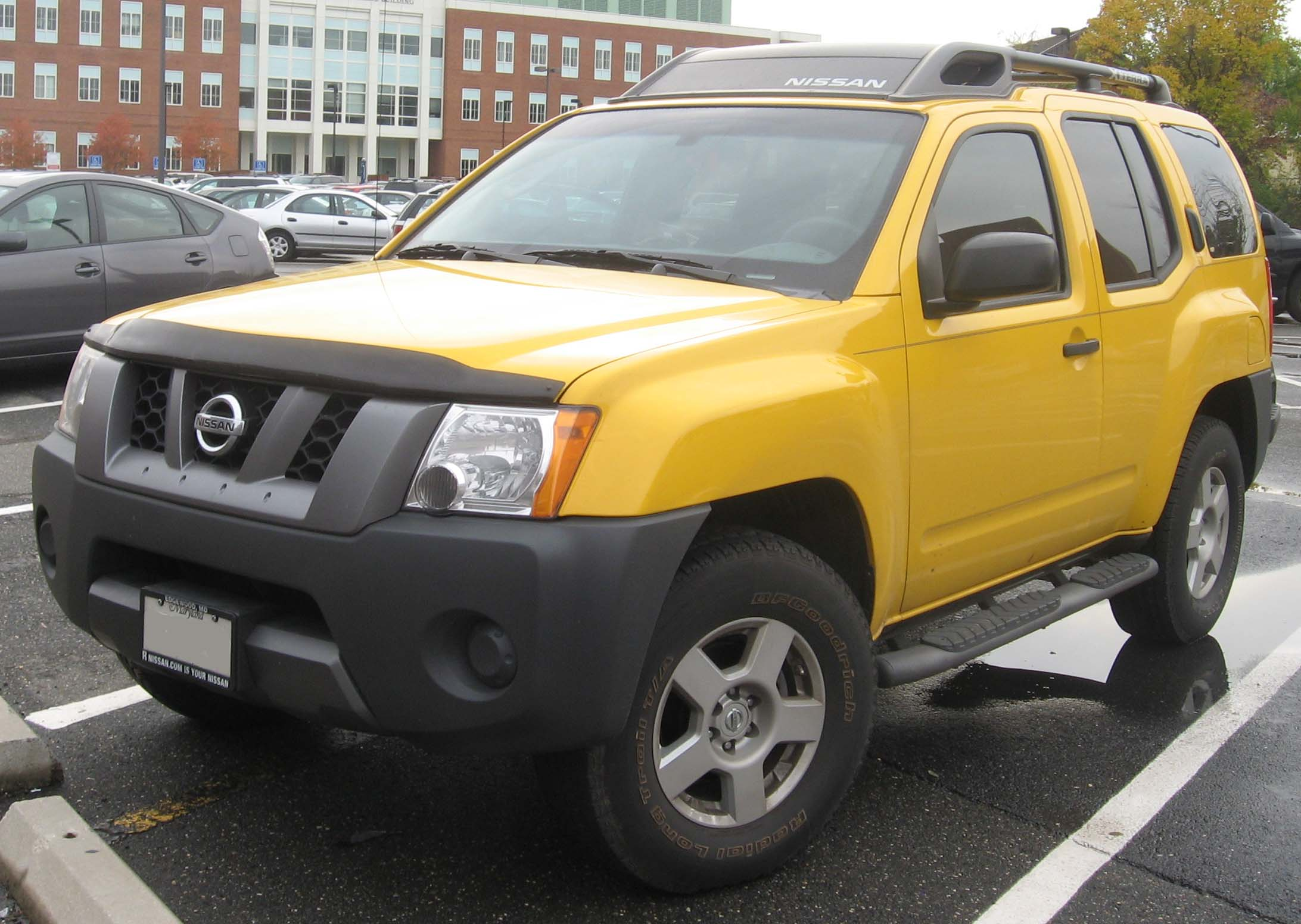2007 nissan xterra information and photos zombiedrive 2007 nissan xterra 16 nissan xterra 16 vanachro Images