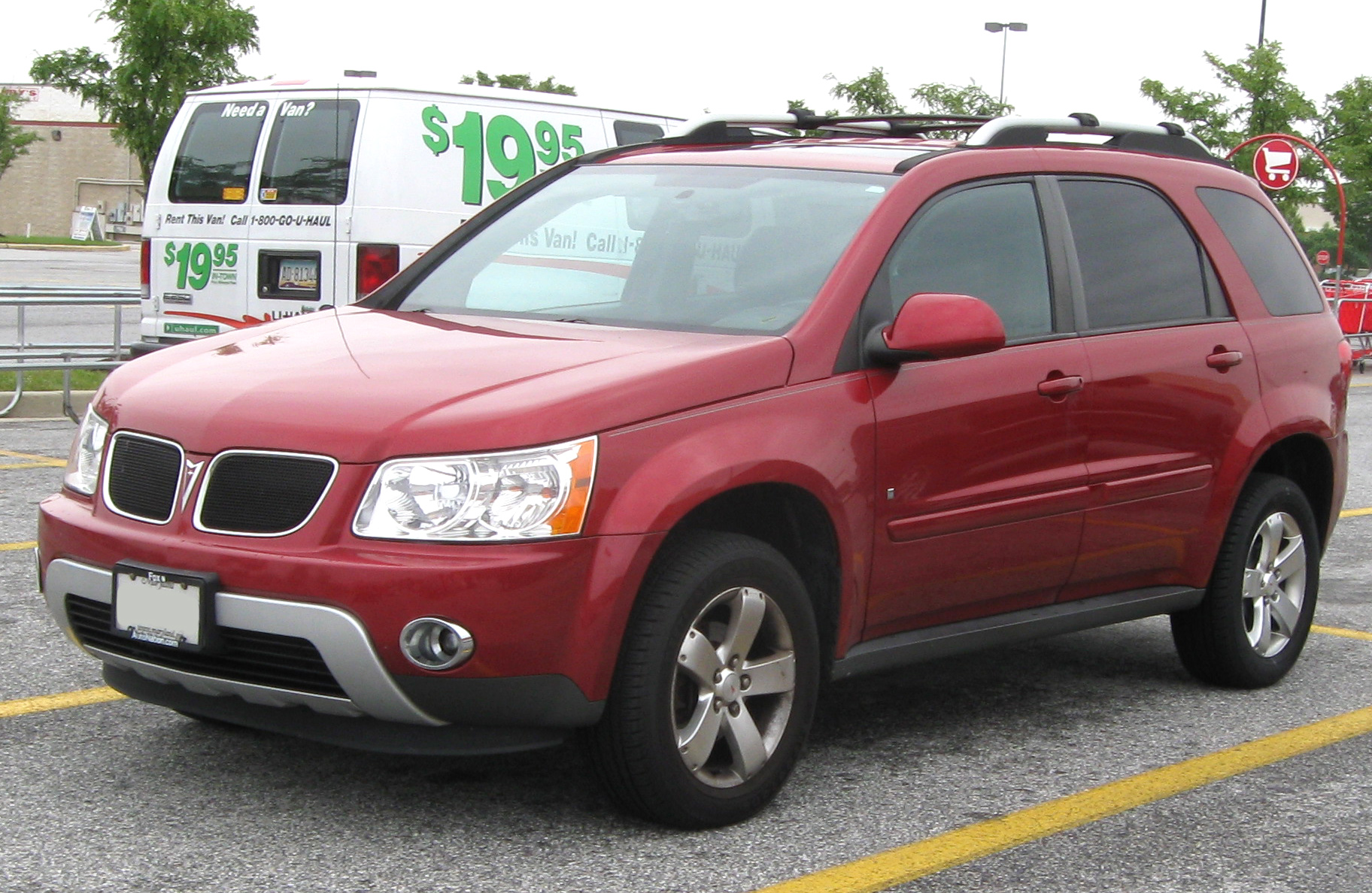 2007 Purple Haze Metallic Pontiac Torrent AWD #13683364 Photo #9 ...