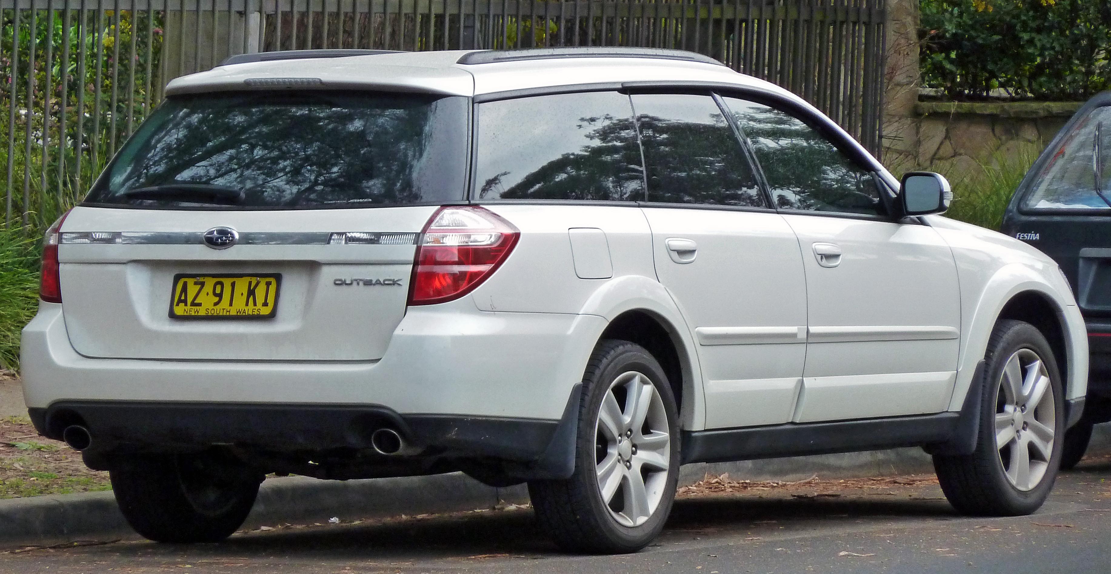 2007 Subaru Outback Image 11