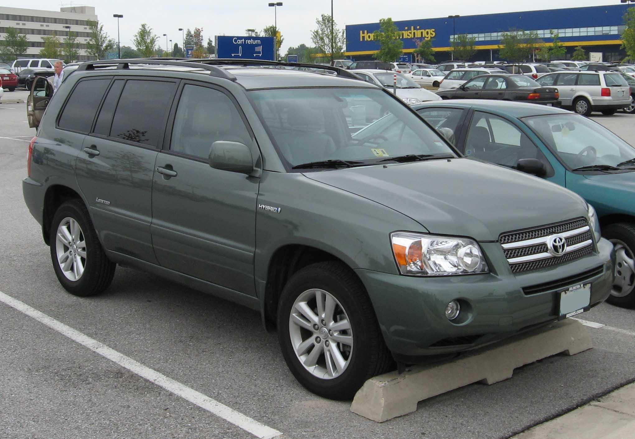 2007 Toyota Highlander Hybrid 21