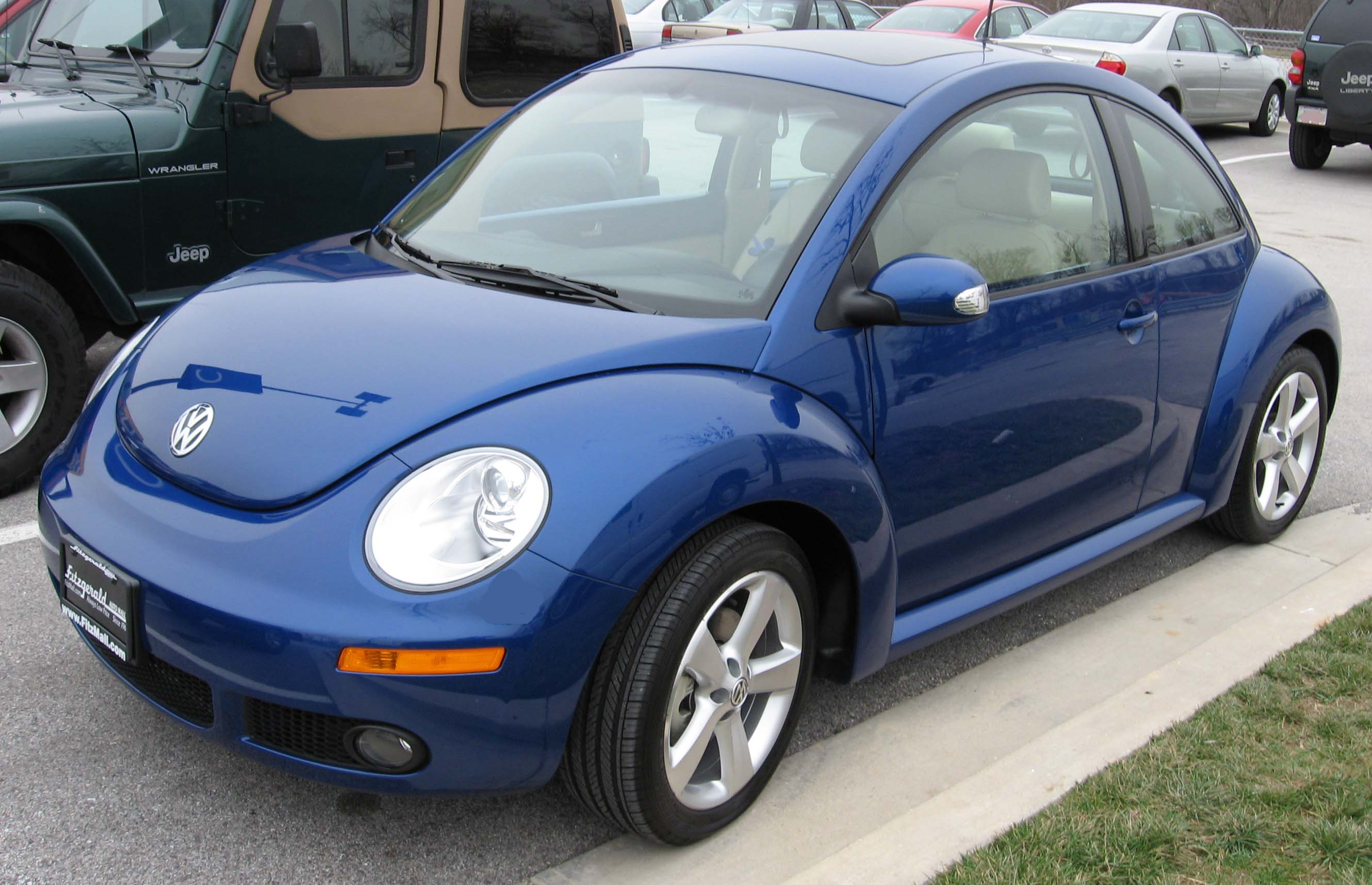 2007 volkswagen new beetle image 12. Black Bedroom Furniture Sets. Home Design Ideas