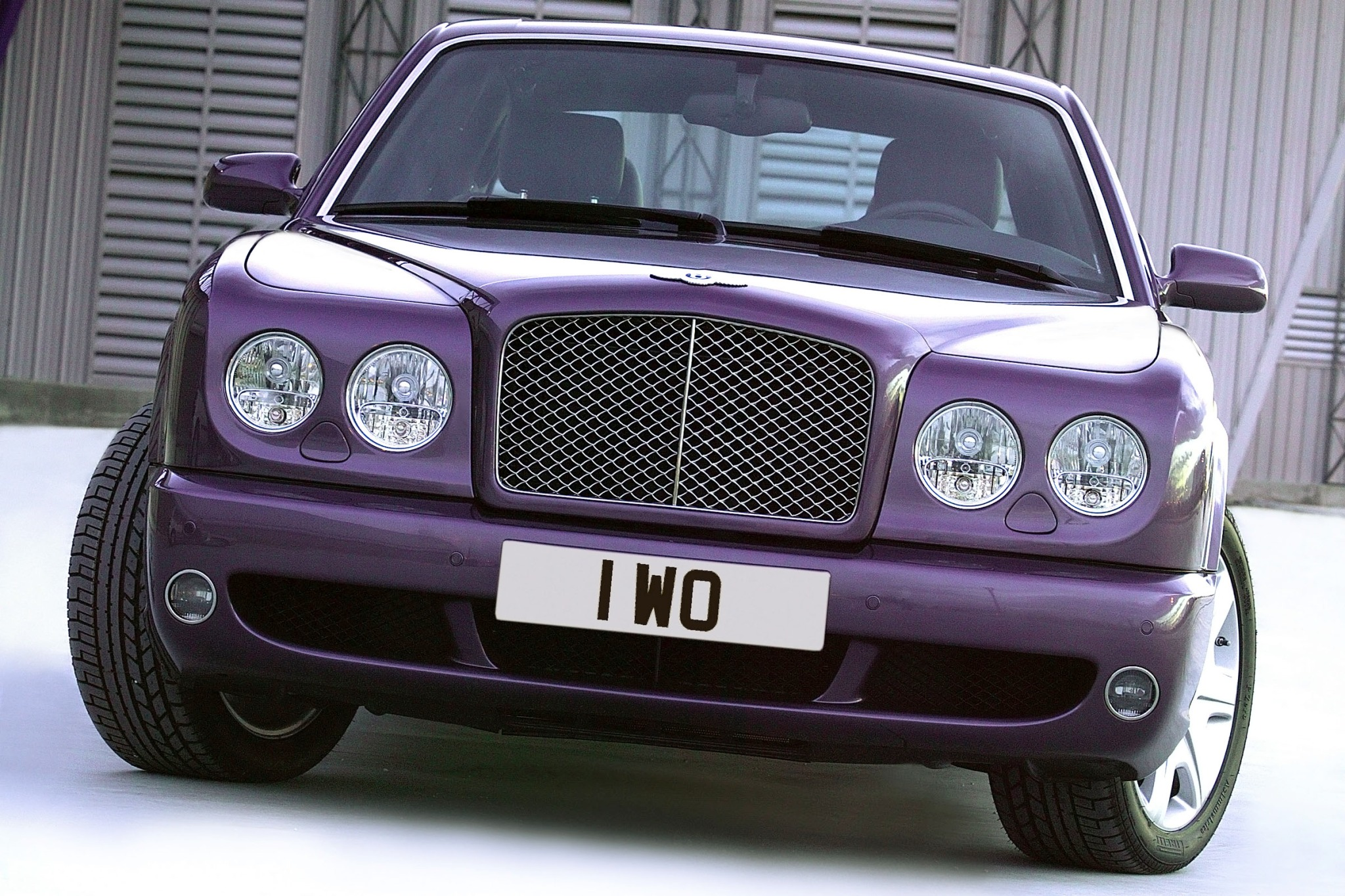 2007 Bentley Arnage R Sed exterior #5