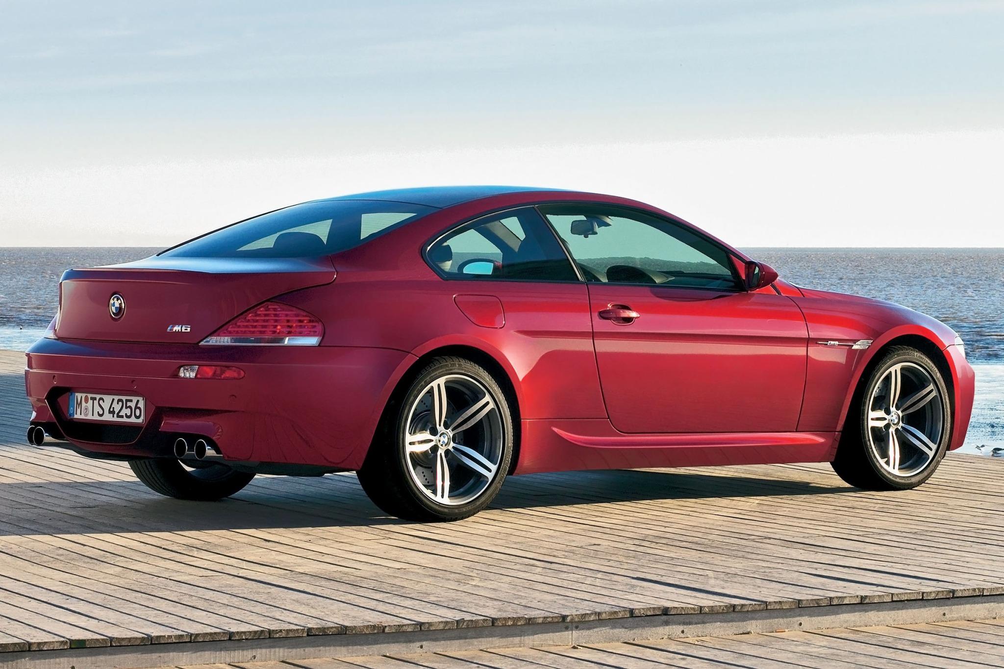 Bmw M6 Coupe >> 2007 BMW M6 - Image #8