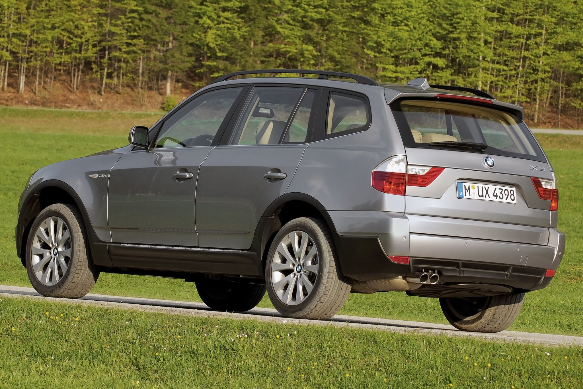 2007 BMW X3 3.0si 4dr SUV exterior #4