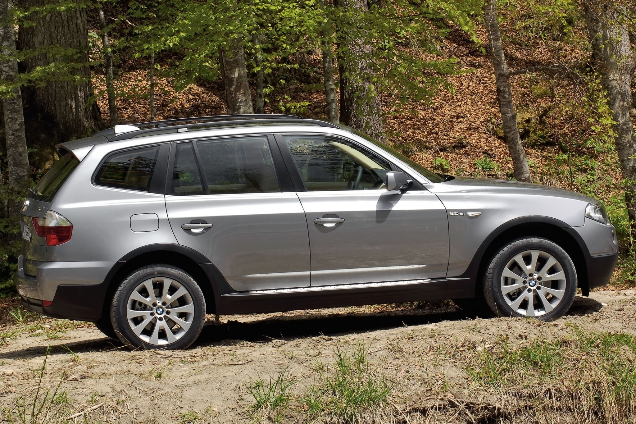 2007 BMW X3 3.0si 4dr SUV exterior #3