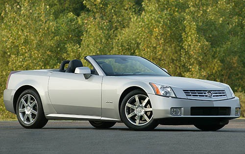 2007 Cadillac XLR Center  interior #2