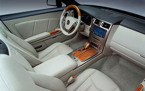 2007 Cadillac XLR Center  interior #9