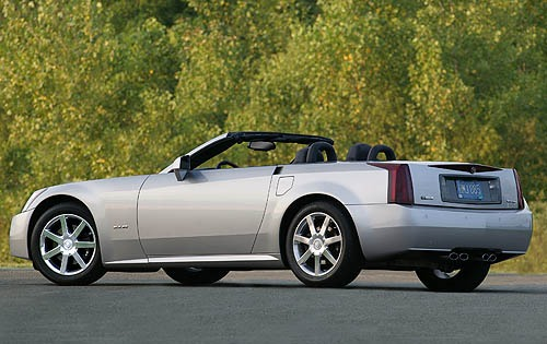 2007 Cadillac XLR Center  interior #5