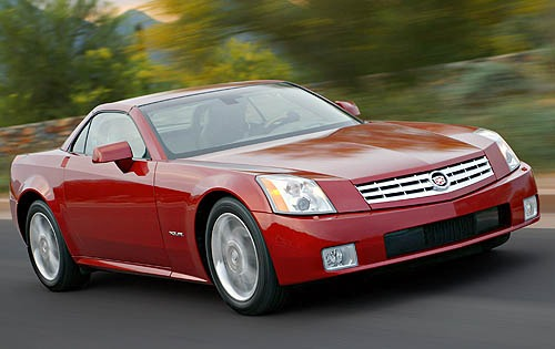 2007 Cadillac XLR Center  interior #4