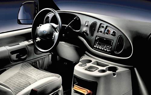 2007 Ford Econoline Cargo Interior 3