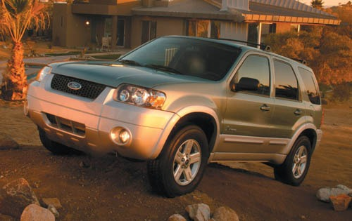 2007 Ford Escape Hybrid B exterior #2