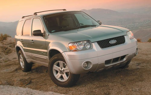 2007 Ford Escape Hybrid B exterior #1