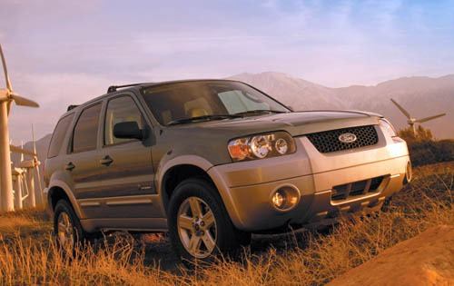 2007 Ford Escape Hybrid B exterior #3