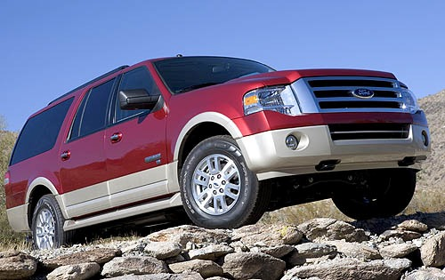2007 Ford Expedition EL E interior #3
