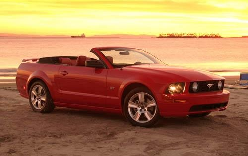 2007 Ford Mustang V6 Inst interior #7