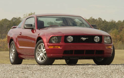2007 Ford Mustang V6 Inst interior #2