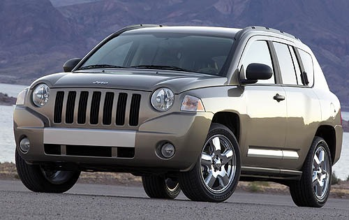 2007 Jeep Compass Limited interior #1