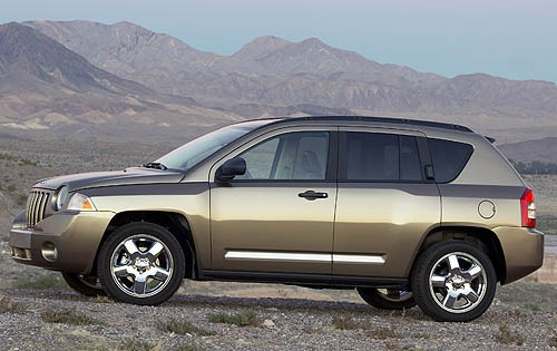 2007 Jeep Compass Limited interior #2