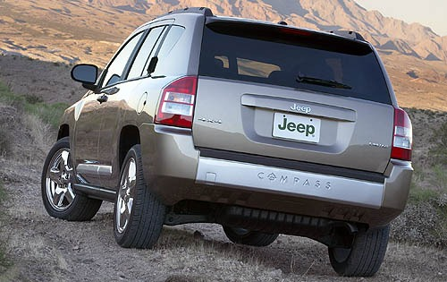 2007 Jeep Compass Limited interior #3