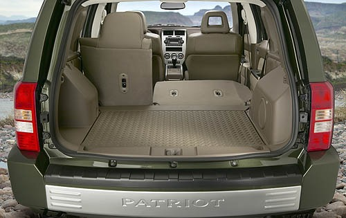 2007 Jeep Patriot Limited interior #6