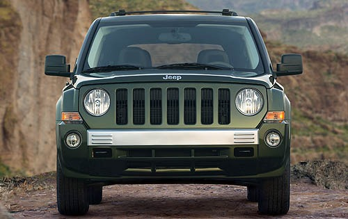 2007 Jeep Patriot Limited interior #4