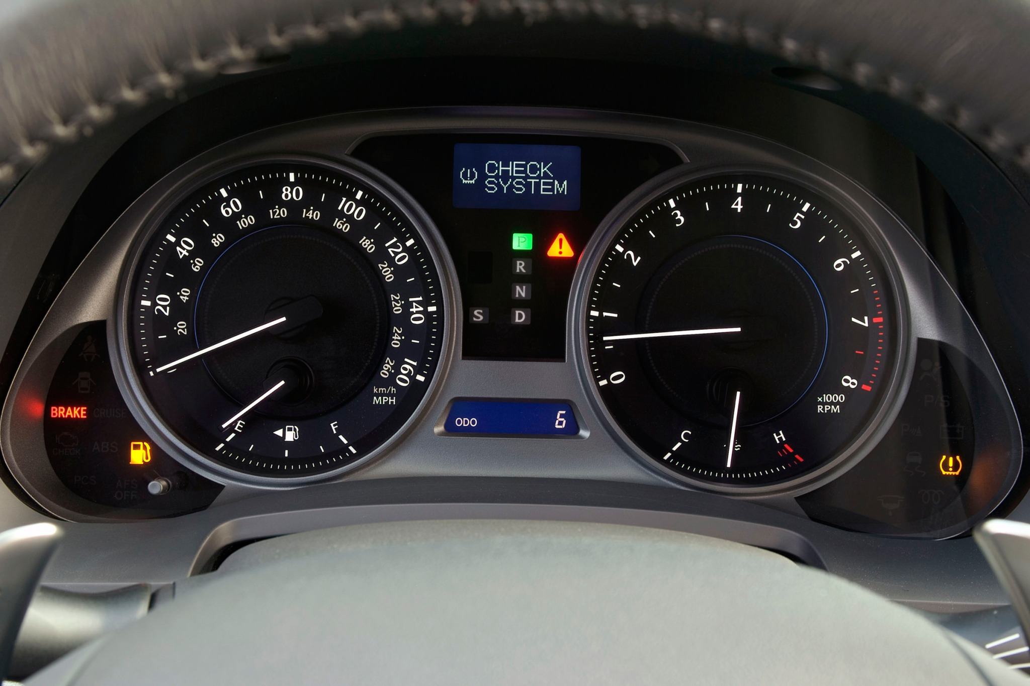 2007 Lexus IS 350 Sedan I interior #8