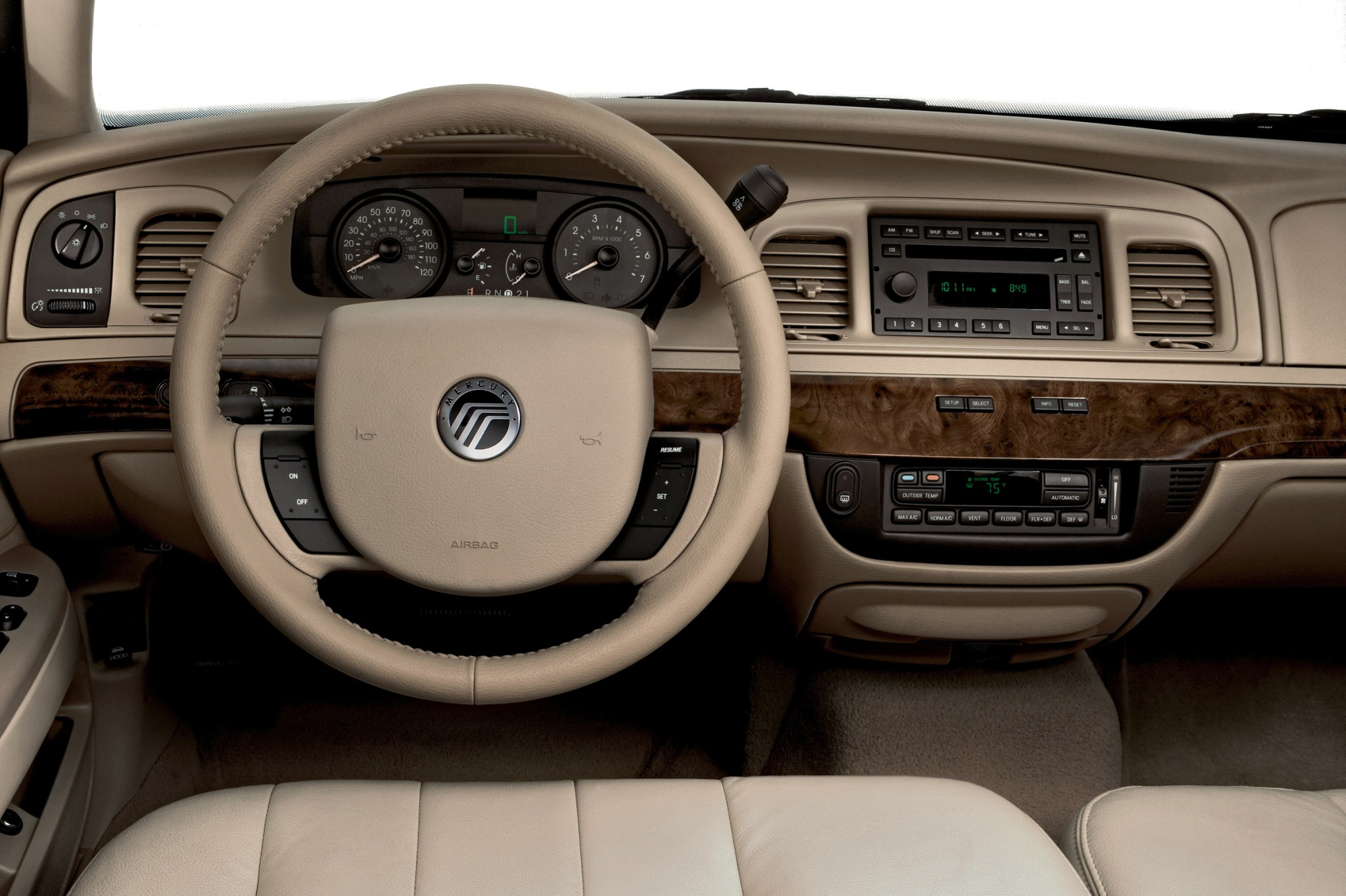 2007 Mercury Grand Marqui exterior #7