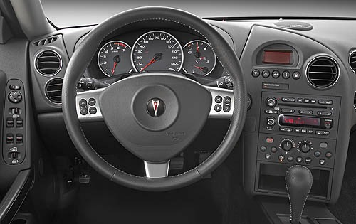 2007 Pontiac Grand Prix G interior #7