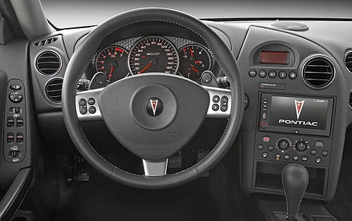 2007 Pontiac Grand Prix G interior #6