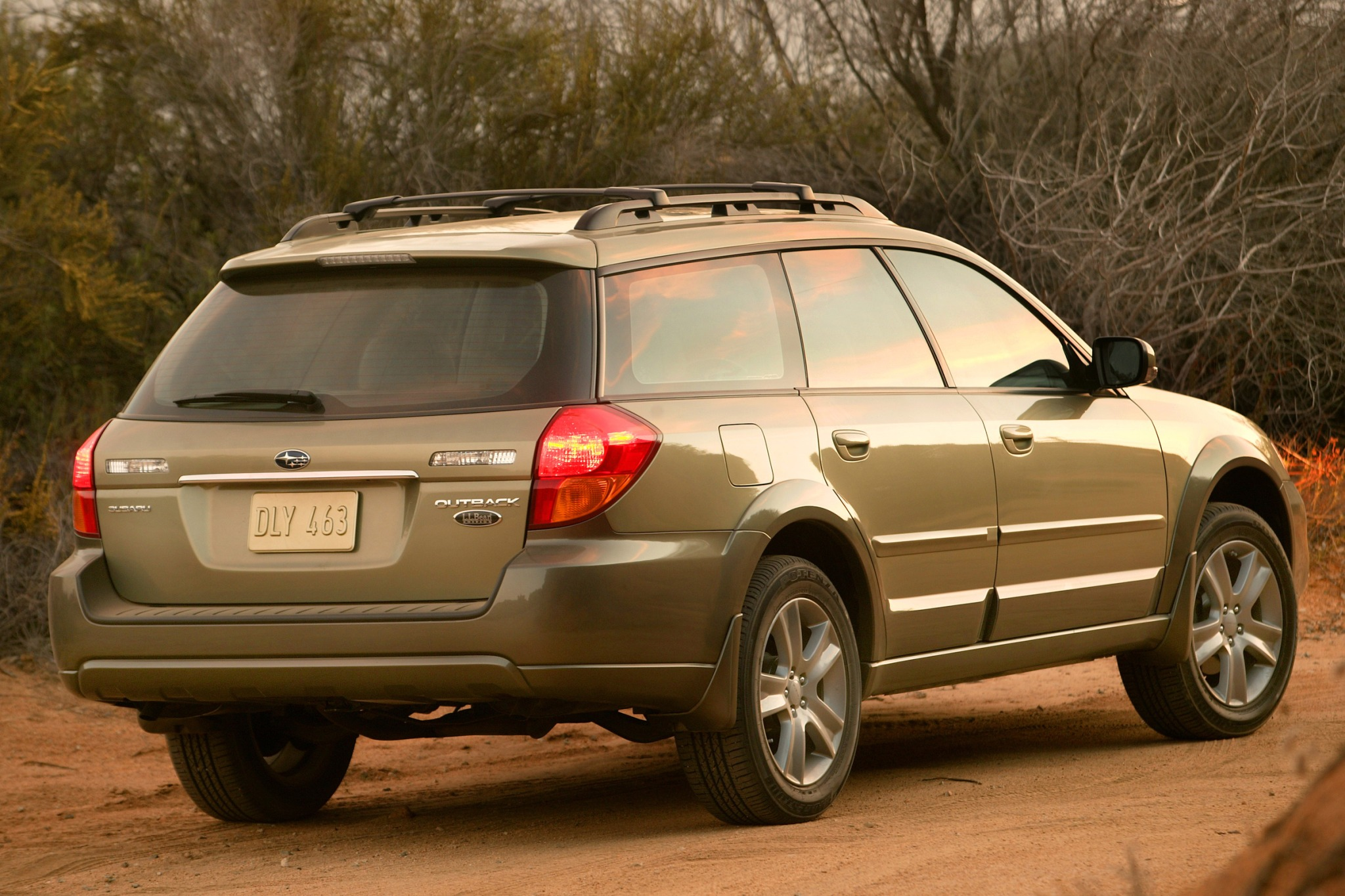 2007 subaru outback information and photos zombiedrive 2007 subaru outback 5 2007 subaru outback 25 x exterior 5 vanachro Gallery