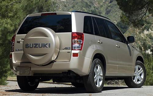 Suzuki Grand Vitara Spare Wheel Cover
